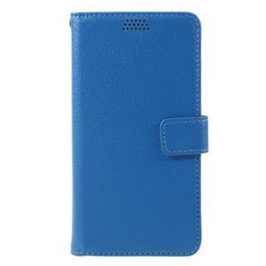 Funny peněženkové pouzdro na mobil Microsoft Lumia 650 - modré - 3