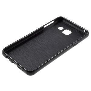Gelový obal na mobil Samsung Galaxy A3 (2016) - černý - 3