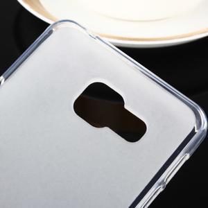 Matný gelový obal pro Samsung Galaxy A3 (2016) - bílý - 3