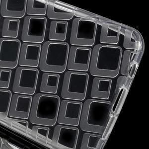Square gelový obal na mobil Samsung Galaxy A3 (2016) - transparentní - 3