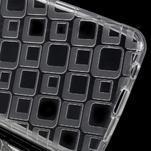 Square gelový obal na mobil Samsung Galaxy A3 (2016) - transparentní - 3/5