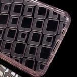 Square gelový obal na mobil Samsung Galaxy A3 (2016) - růžový - 3/5