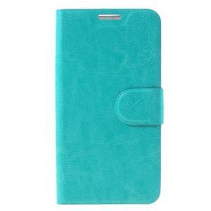 Horse peněženkové pouzdro na Samsung Galaxy A3 (2016) - modré - 3