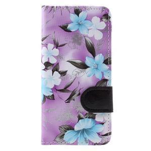 Pouzdro na mobil Samsung Galaxy A3 (2016) - fialové pozadí - 3