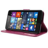 Butterfly peněženkové pouzdro na Microsoft Lumia 535 - rose - 3/7