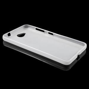 Matný gelový obal na Microsft Lumia 650 - transparentní - 3