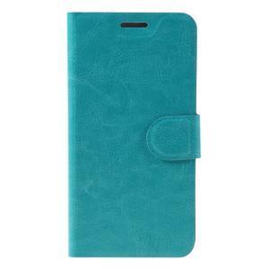 Horse peněženkové pouzdro na mobil Microsoft Lumia 650 - modré - 3