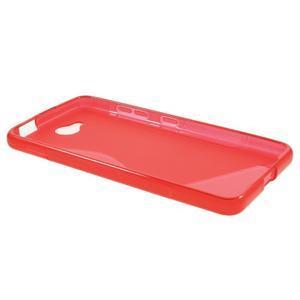 S-line gelový obal na mobil Microsoft Lumia 650 - červený - 3