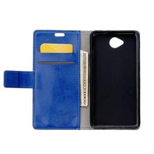 Fold peněženkové pouzdro na Microsoft Lumia 650 - modré - 3