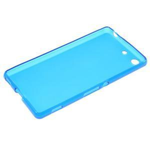 Matný gelový kryt pro Sony Xperia M5 - modrý - 3