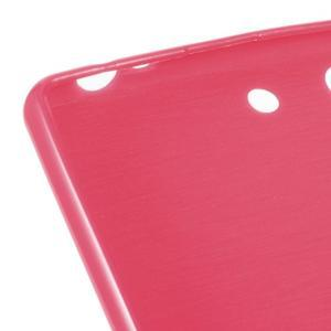 Lesklý gelový obal na mobil Sony Xperia M5 - rose - 3