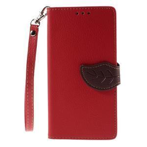 Blade peněženkové pouzdro na Sony Xperia M5 - červené - 3
