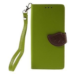 Blade peněženkové pouzdro na Sony Xperia M5 - zelené - 3