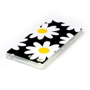 Style gelový obal pro Sony Xperia M5 - daisy - 3