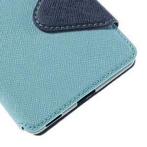 Diary pouzdro s okýnkem na Sony Xperia M5 - světlemodré - 3