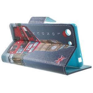 Stand peněženkové pouzdro na Sony Xperia M5 - Big Ben - 3