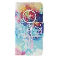 Crafty peněženkové pouzdro na Sony Xperia M5 - lapač snů - 3/7