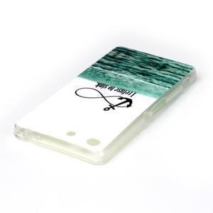 Style gelový obal pro Sony Xperia M5 - kotva - 3