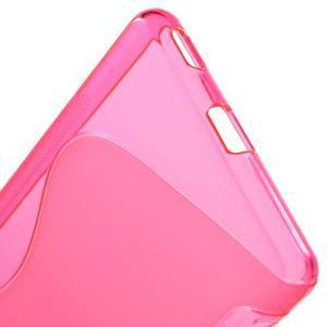 S-line gelový obal na mobil Sony Xperia M5 - rose - 3