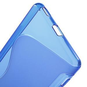 S-line gelový obal na mobil Sony Xperia M5 - modré - 3