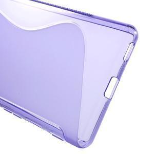S-line gelový obal na mobil Sony Xperia M5 - fialové - 3