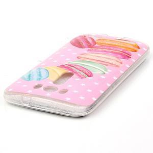 Softy gelový obal na mobil Asus Zenfone 2 Laser - makrónky - 3