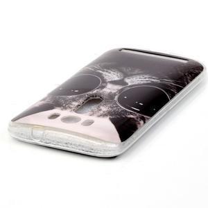 Softy gelový obal na mobil Asus Zenfone 2 Laser - cool kočka - 3