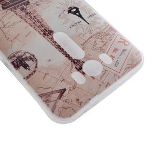 Softy gelový obal na mobil Asus Zenfone 2 Laser - Eiffelova věž - 3