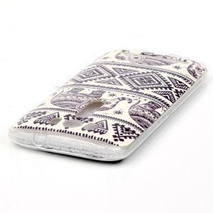 Softy gelový obal na mobil Asus Zenfone 2 Laser - sloni - 3