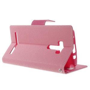 Mr. Goos peněženkové pouzdro na Asus Zenfone Selfie ZD551KL - růžové - 3
