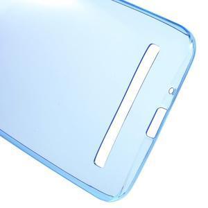 Ultratenký slim obal 0.6 mm na Asus Zenfone Selfie - tmavěmodrý - 3