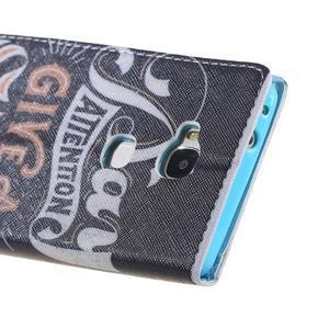 Knížkové pouzdro na mobil Honor 5X - attention - 3