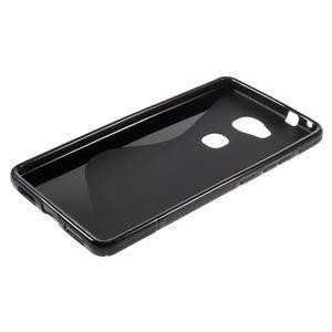 S-line gelový obal na mobil Honor 5X - černý - 3