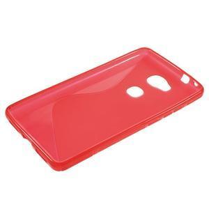 S-line gelový obal na mobil Honor 5X - červený - 3