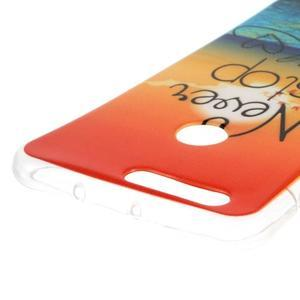 Emotive gelový obal na mobil Honor 8 - nepřestávej snít - 3