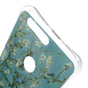 Emotive gelový obal na mobil Honor 8 - kvetoucí strom - 3