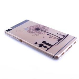 Ultra tenký slim obal na Huawei Ascend P8 Lite - pampeliška - 3
