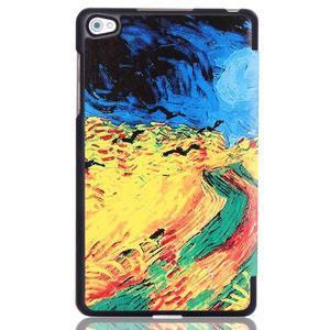 Třípolohové pouzdro na tablet Huawei MediaPad M2 8.0 - olejomalba - 3