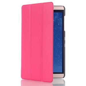 Trifold polohovatelné pouzdro na tablet Huawei MediaPad M2 8.0 - rose - 3