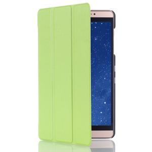Trifold polohovatelné pouzdro na tablet Huawei MediaPad M2 8.0 - zelené - 3