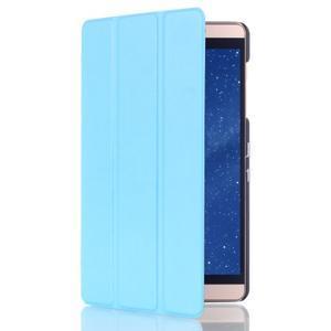 Trifold polohovatelné pouzdro na tablet Huawei MediaPad M2 8.0 - světlemodré - 3
