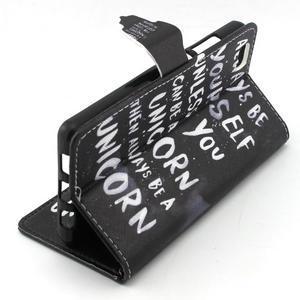Emotive pouzdro na mobil Huawei P8 Lite - unicorn - 3