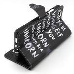 Emotive pouzdro na mobil Huawei P8 Lite - unicorn - 3/6