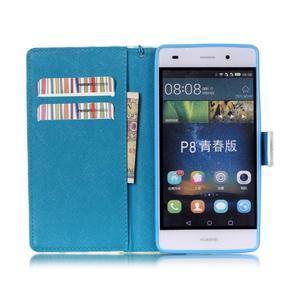 Picture PU kožené pouzdro na Huawei P8 Lite - locked - 3