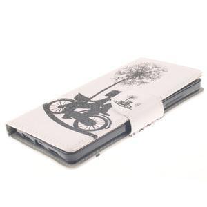 Leathy PU kožené pouzdro na Huawei P8 Lite - láska na kole - 3