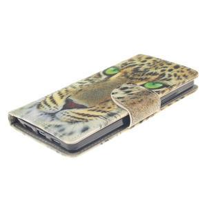 Leathy PU kožené pouzdro na Huawei P8 Lite - gepard - 3