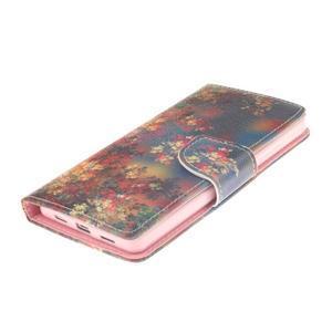 Leathy PU kožené pouzdro na Huawei P8 Lite - podzimní zátiší - 3