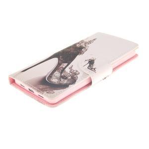 Leathy PU kožené pouzdro na Huawei P8 Lite - pekelný střevíc - 3