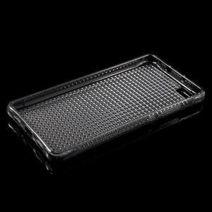 Diamonds gelový obal na Huawei P8 Lite - šedý - 3
