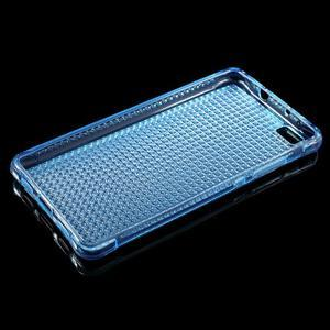 Diamonds gelový obal na Huawei P8 Lite - modrý - 3